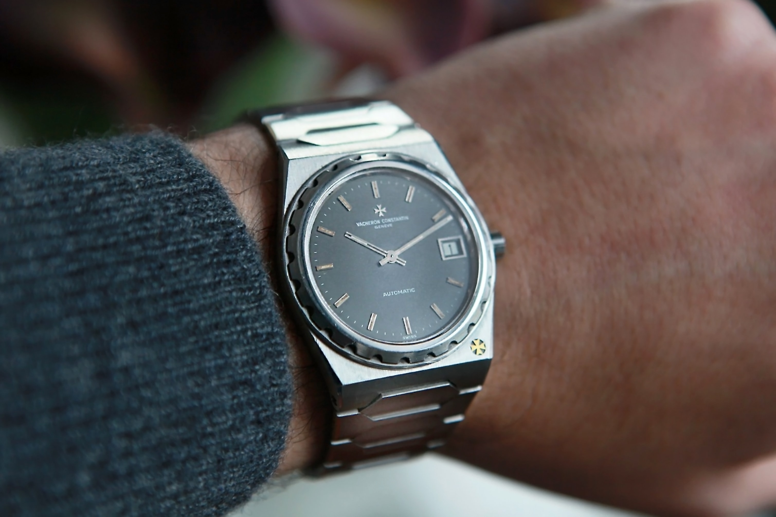 Three On Three: Comparing The Vacheron Constantin Overseas, The Piaget Polo S, And The Audemars Piguet Royal Oak 15400 Three On Three: Comparing The Vacheron Constantin Overseas, The Piaget Polo S, And The Audemars Piguet Royal Oak 15400 0011