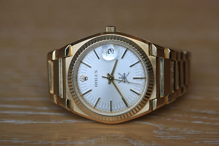 Rolex Reference 5100 sultanate Oman