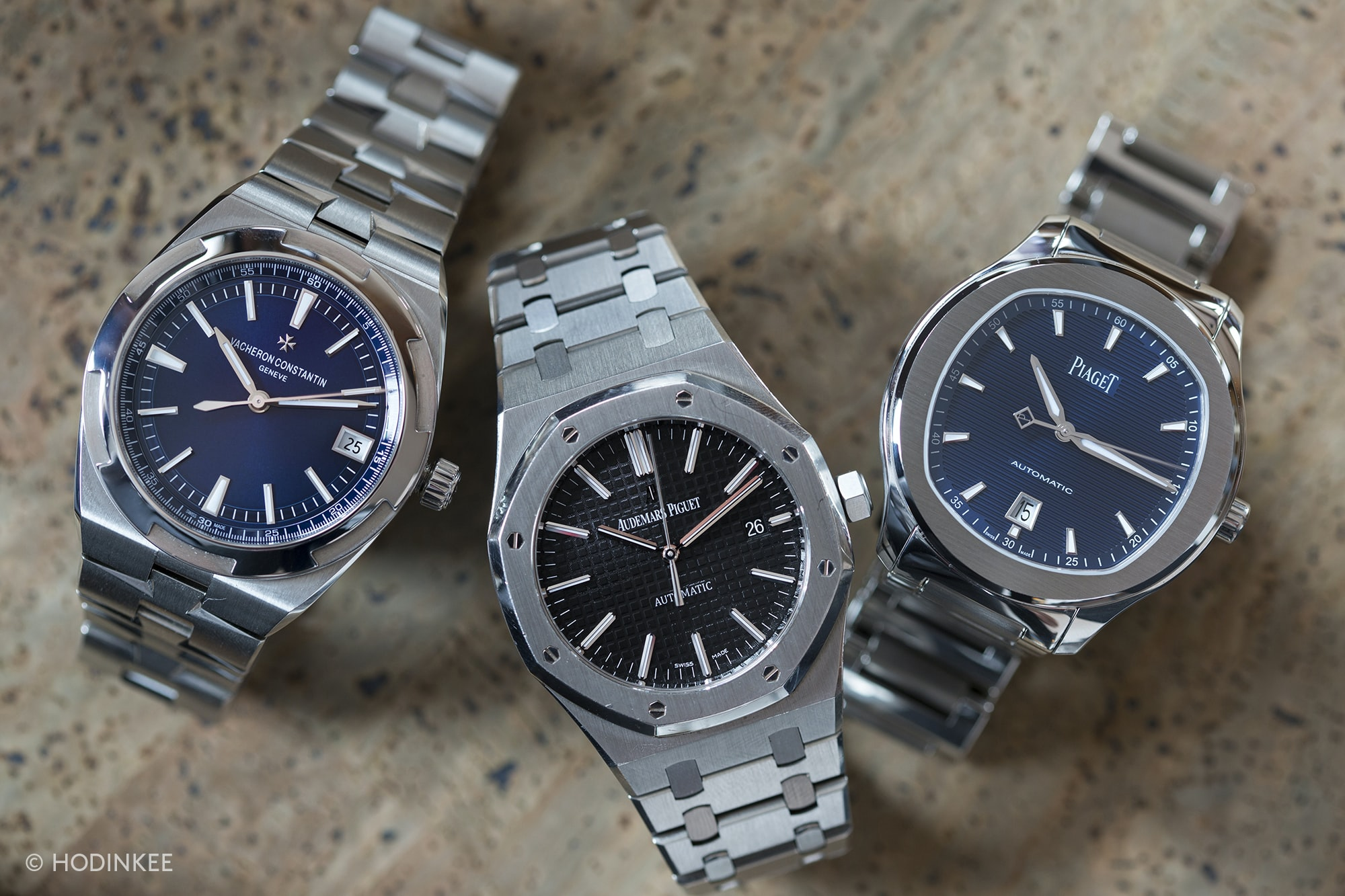 Three On Three: Comparing The Vacheron Constantin Overseas, The Piaget Polo S, And The Audemars Piguet Royal Oak 15400 Three On Three: Comparing The Vacheron Constantin Overseas, The Piaget Polo S, And The Audemars Piguet Royal Oak 15400 20012694 copy