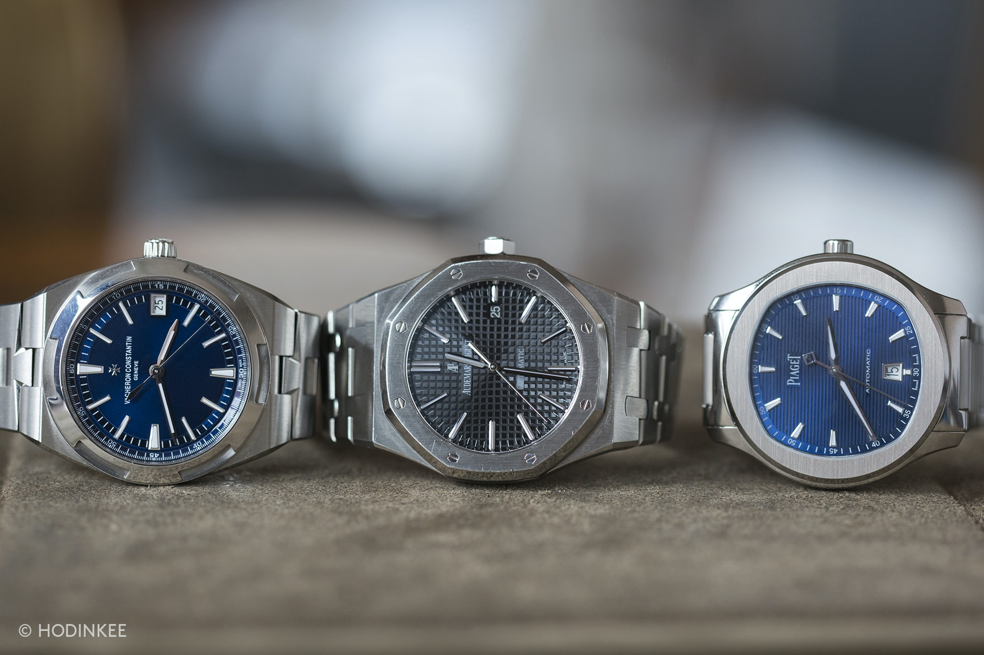 Three On Three: Comparing The Vacheron Constantin Overseas, The Piaget Polo S, And The Audemars Piguet Royal Oak 15400 Three On Three: Comparing The Vacheron Constantin Overseas, The Piaget Polo S, And The Audemars Piguet Royal Oak 15400 20012687 copy
