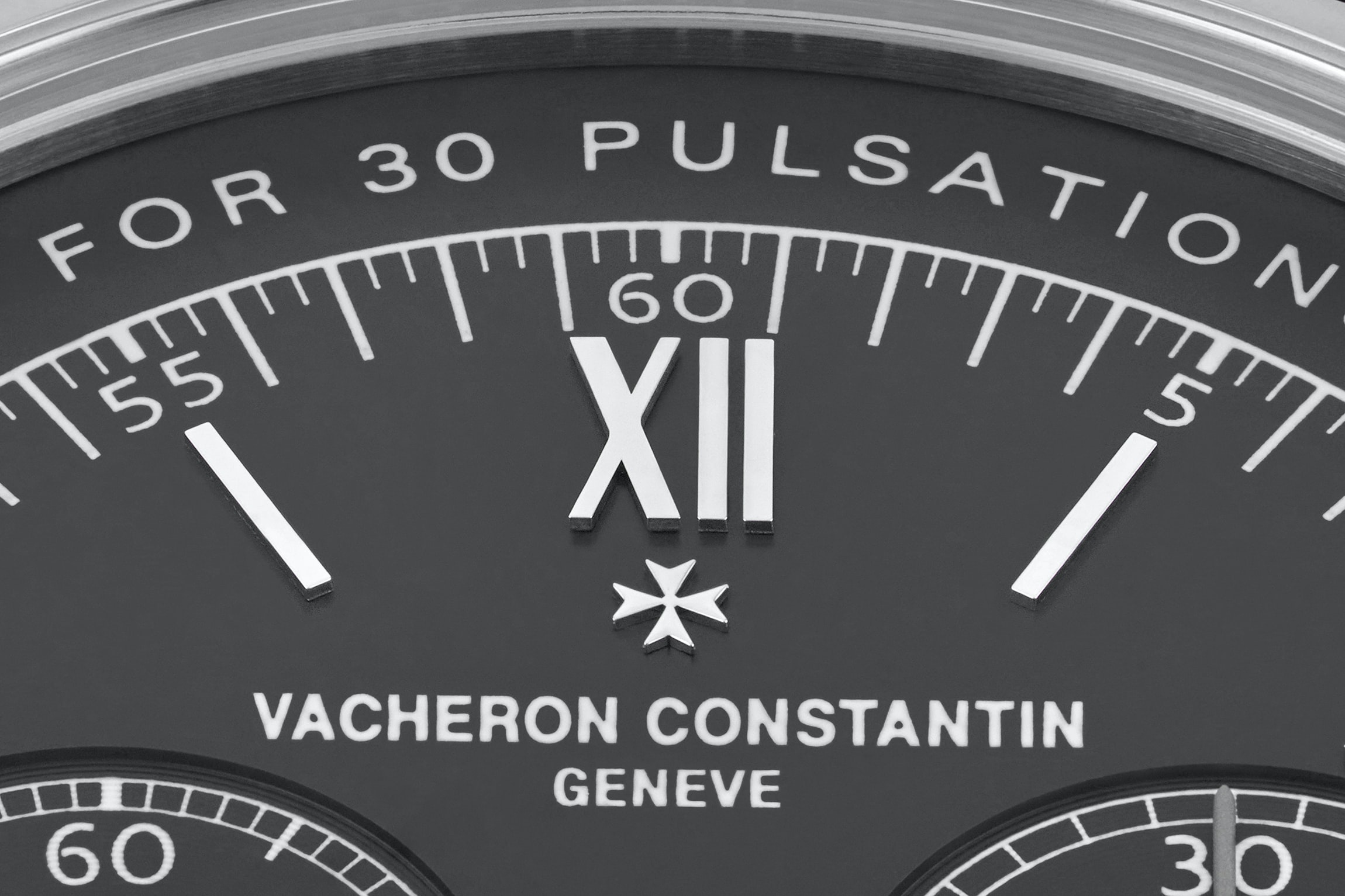 In The Shop: Introducing The Vacheron Constantin Historiques Cornes de Vache 1955 Limited Edition For HODINKEE In The Shop: Introducing The Vacheron Constantin Historiques Cornes de Vache 1955 Limited Edition For HODINKEE Vacharon logo closeup clean1
