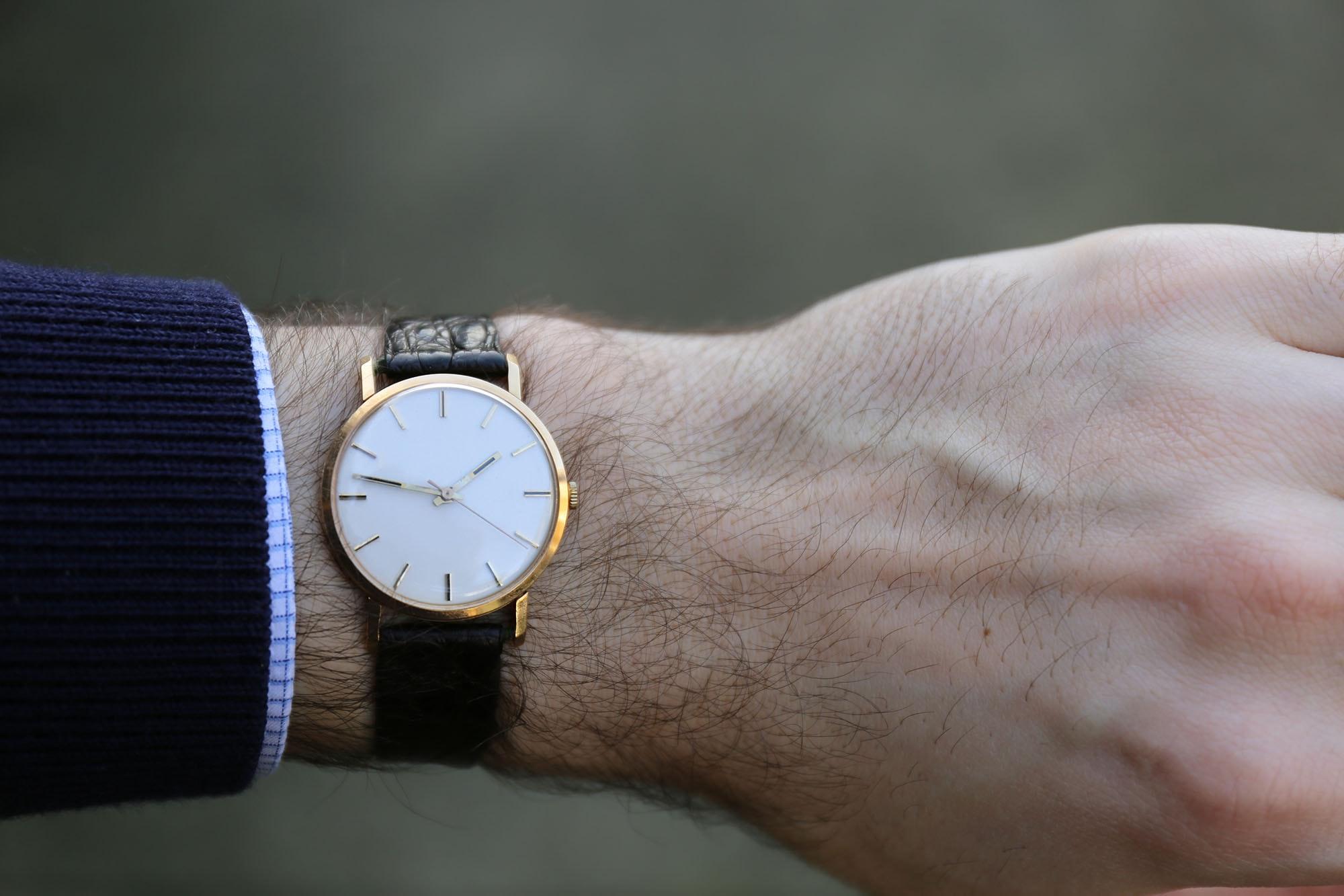 Found: My Grandfather's Gold Wristwatch, A Vestige Of 20th Century Swiss Watchmaking Found: My Grandfather's Gold Wristwatch, A Vestige Of 20th Century Swiss Watchmaking IMG 5044