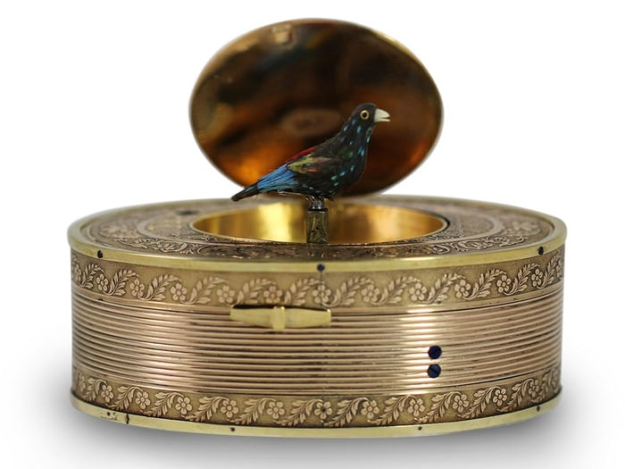 Singing Bird snuffbox, 1820