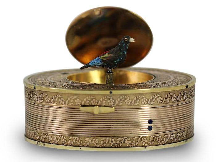 Singing Bird snuffbox, 1820
