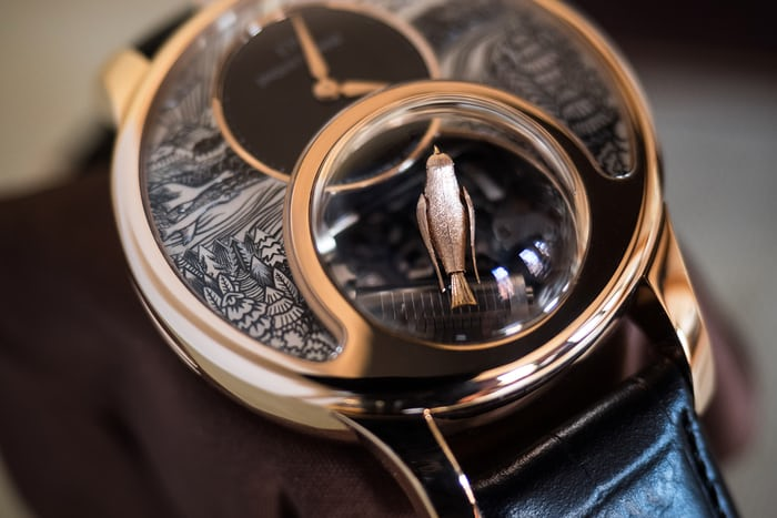 Jaquet Droz Charming Bird under dome