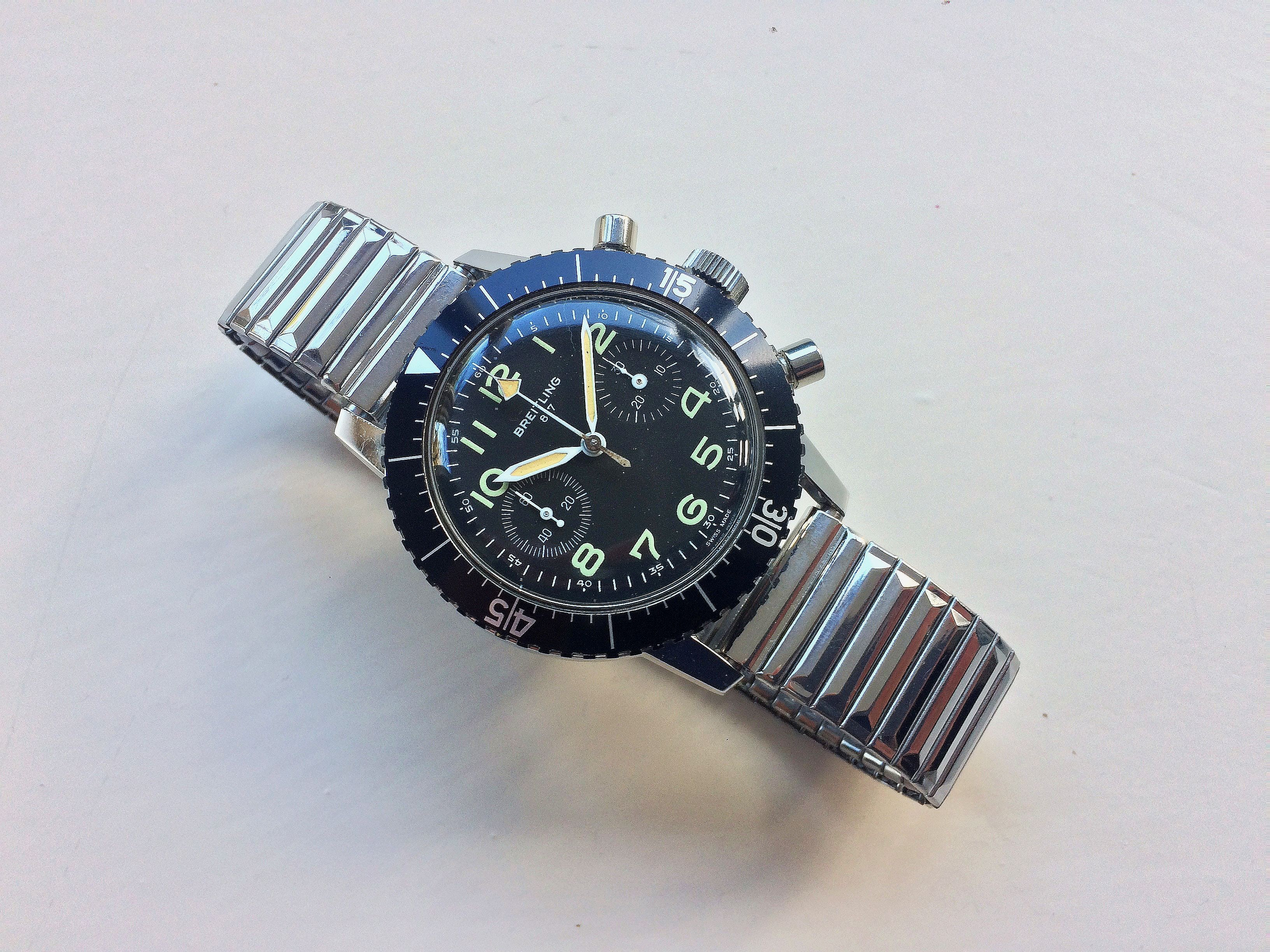 The Strange Story Of 40 Military-Issued Breitling Reference