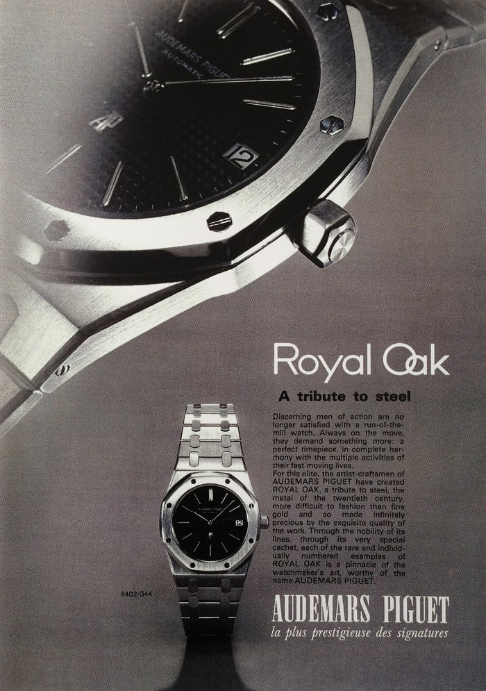 early audemars piguet advertisement
