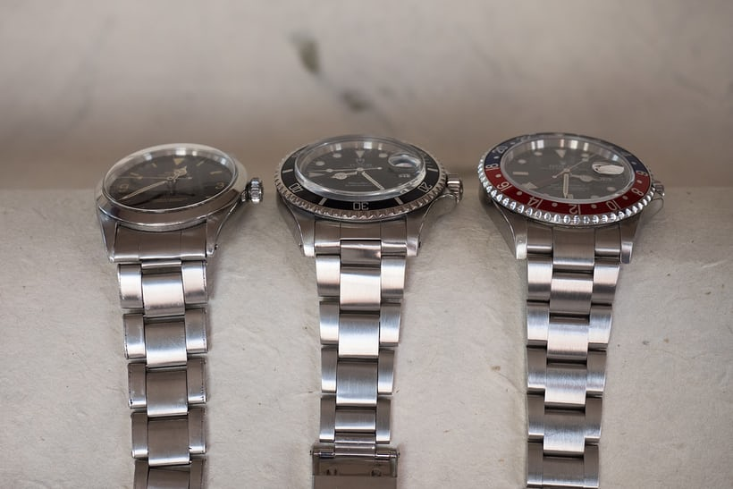 three generations oyster bracelet rolex