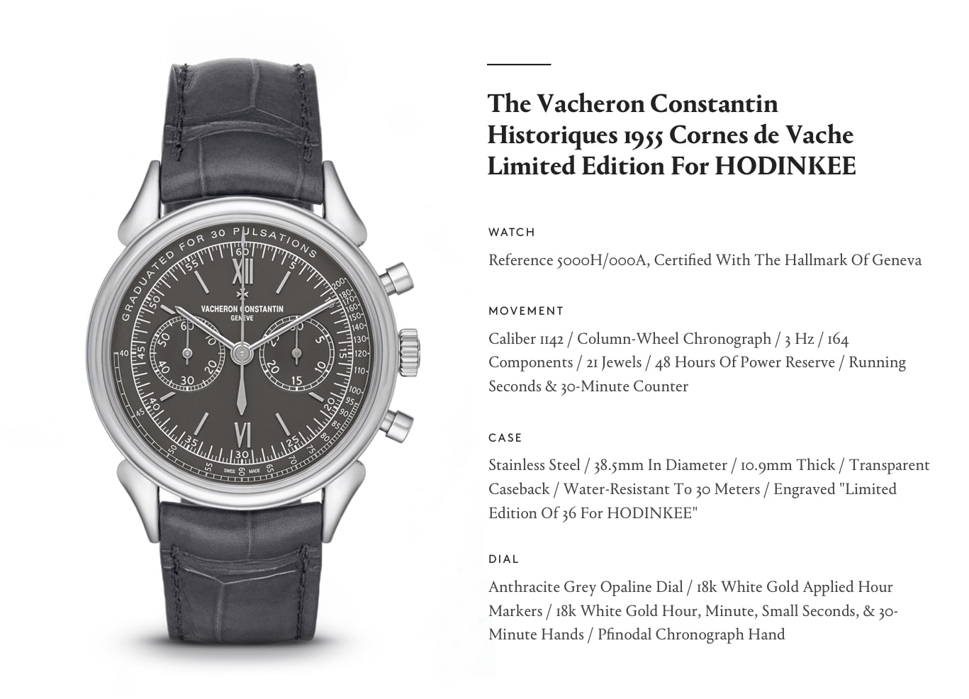 Vacheron Constantin Historiques Cornes de Vache 1955 Limited Edition For HODINKEE In The Shop: Introducing The Vacheron Constantin Historiques Cornes de Vache 1955 Limited Edition For HODINKEE In The Shop: Introducing The Vacheron Constantin Historiques Cornes de Vache 1955 Limited Edition For HODINKEE vc graphic 2