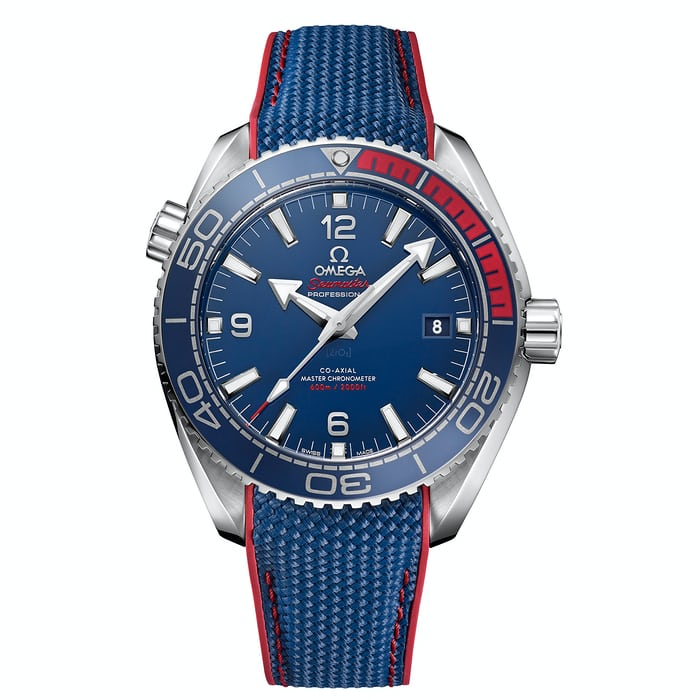 The Omega the Seamaster Planet Ocean PyeongChang 2018 Limited Edition.