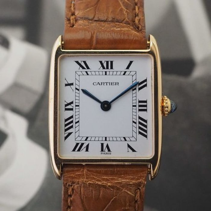 Cartier Tank Arrondie