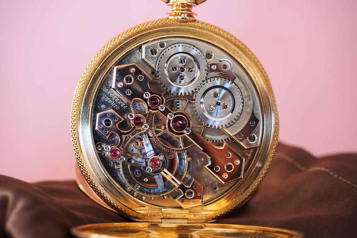 Girard-Perregaux Pocket Chronometer movement finishing