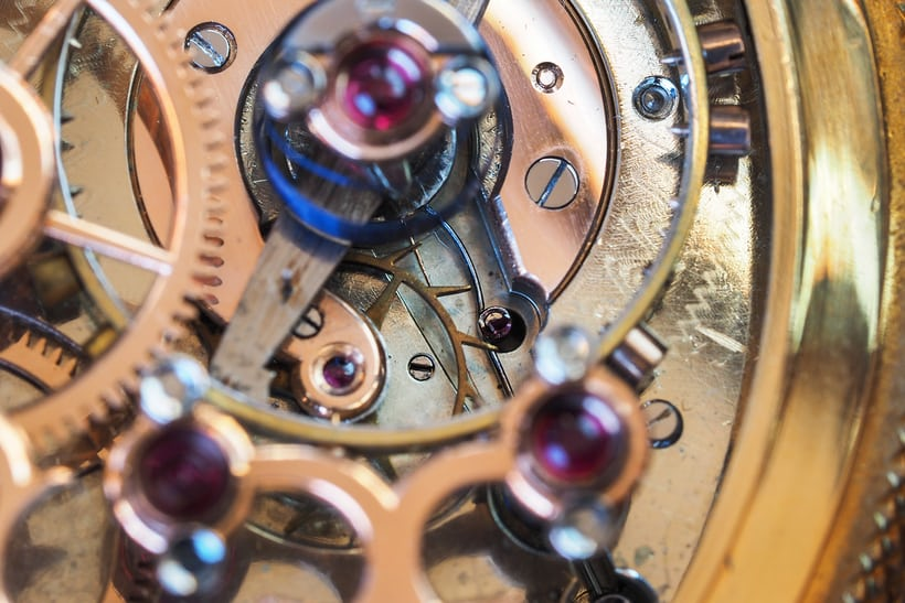 Girard-Perregaux Pocket Chronometer escape wheel