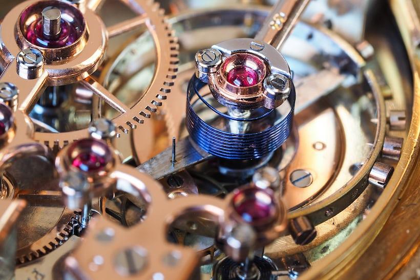 Girard-Perregaux Pocket Chronometer balance spring