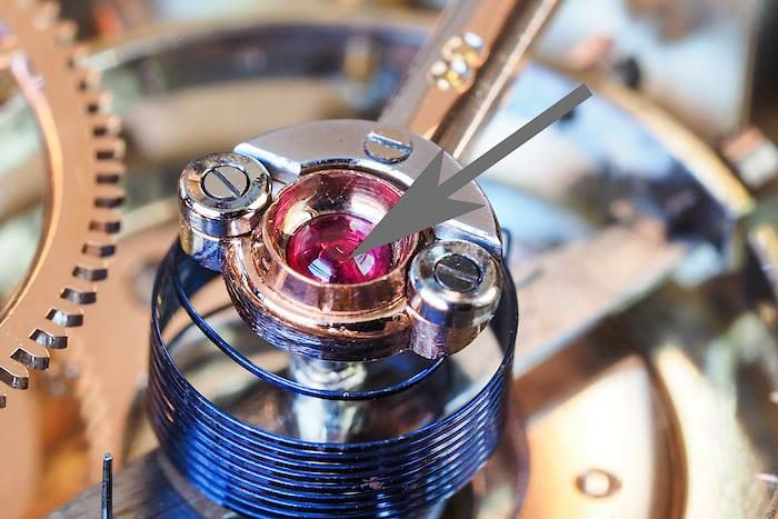 Girard-Perregaux Pocket Chronometer balance pivot