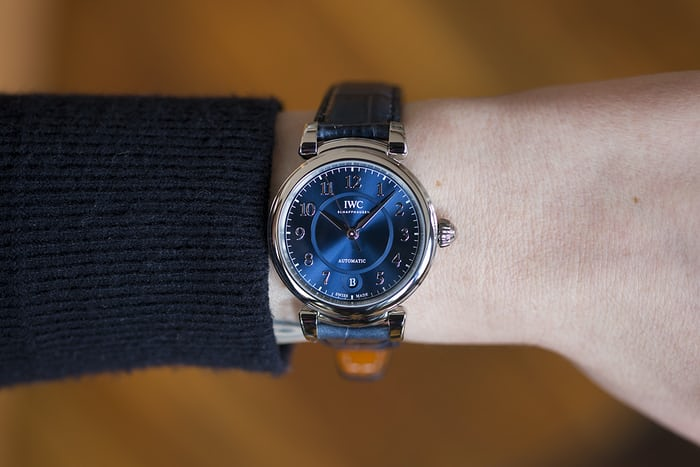 The IWC Automatic 36 steel