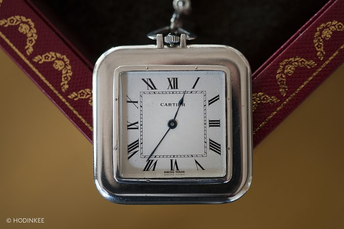Cartier Square Pocket Watch