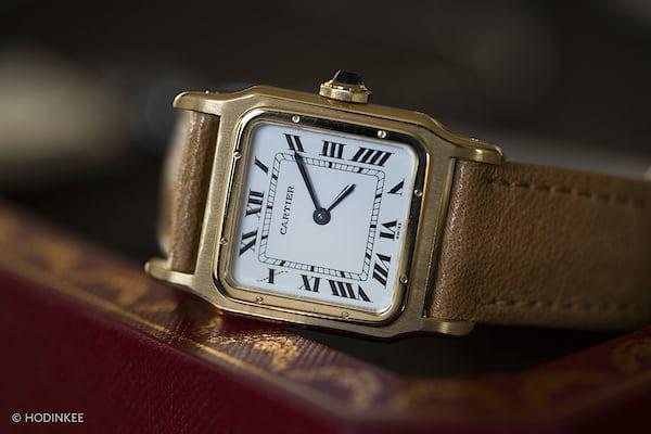 Cartier Santos Dumont dial