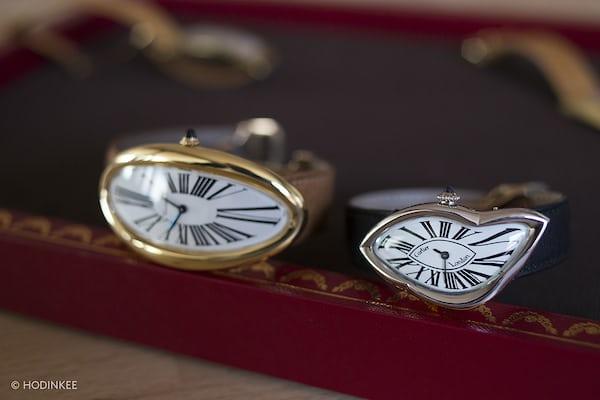 Cartier crash Baignoire Allongée