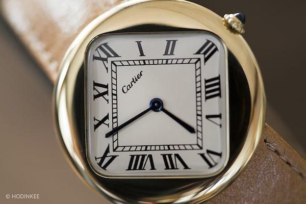 Cartier Ronde dial