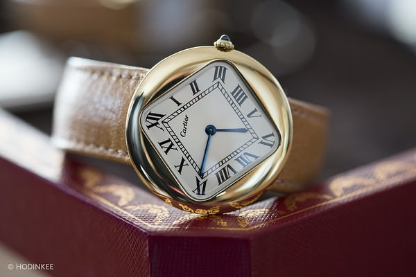 Cartier Ronde pebble
