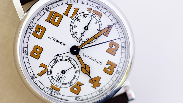 Longines Avigation Type A-7 1935 dial