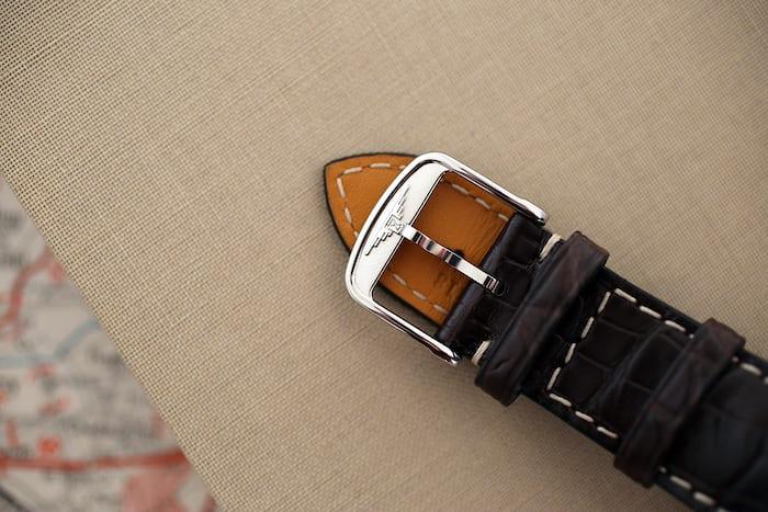 Longines Avigation Type A-7 1935 strap buckle
