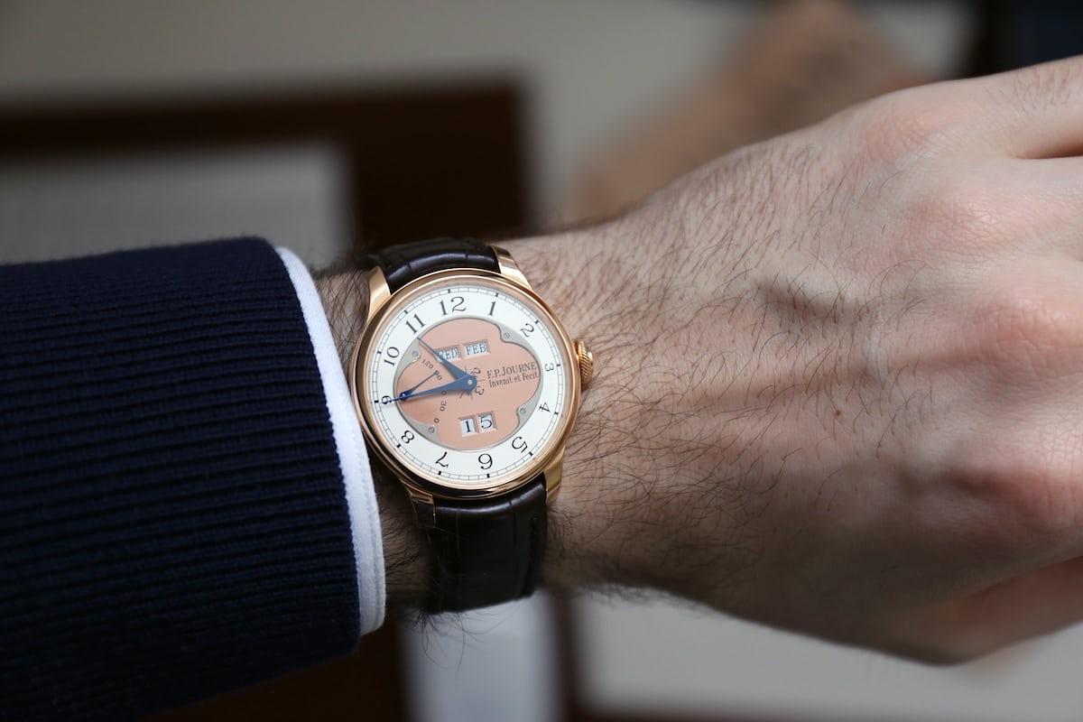 F.P. Journe Octa Quantième Perpétuel wrist shot