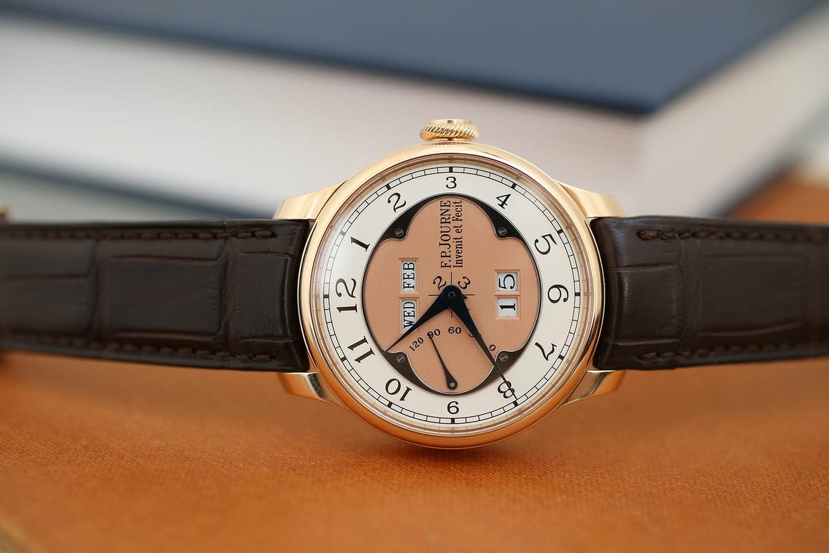 F.P. Journe Octa Quantième Perpétuel a week on the wrist.