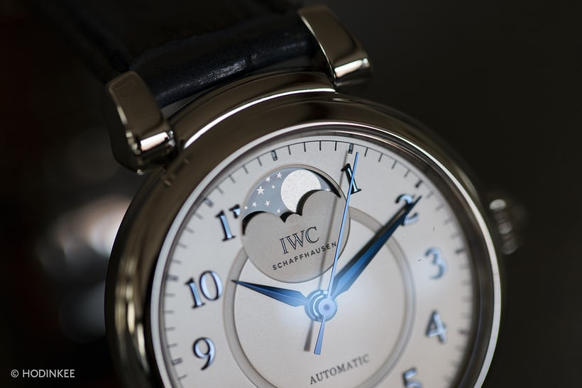 IWC automatic da vinci moon phase 36