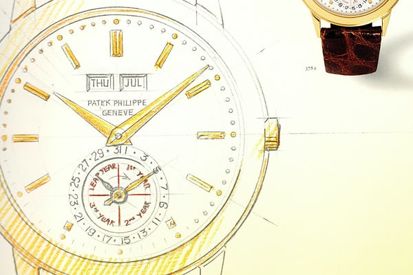 "Illustration in ""Patek Philippe"" by Huber & Banbery, page 221"