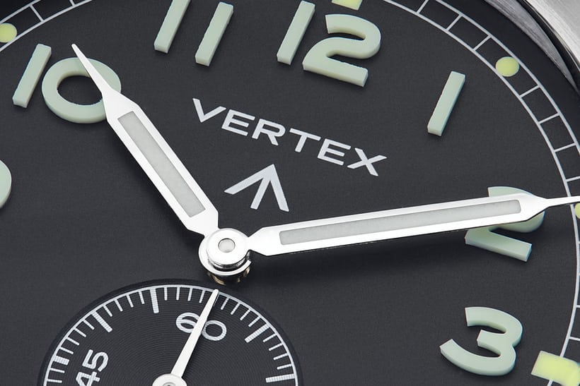 vertex numerals dial superluminova