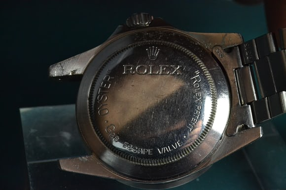 Rolex Sea-Dweller Reference 1655 back