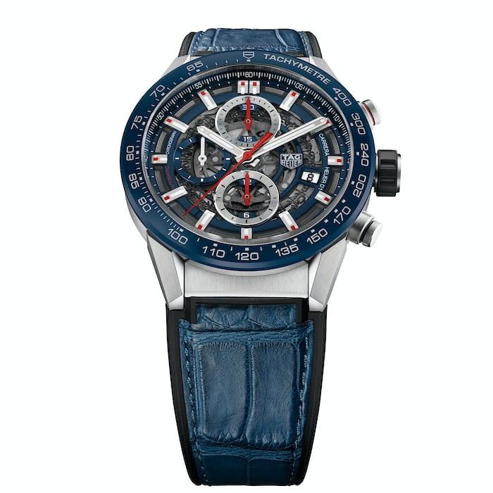 TAG Heuer Carrera Heuer-01 43mm blue