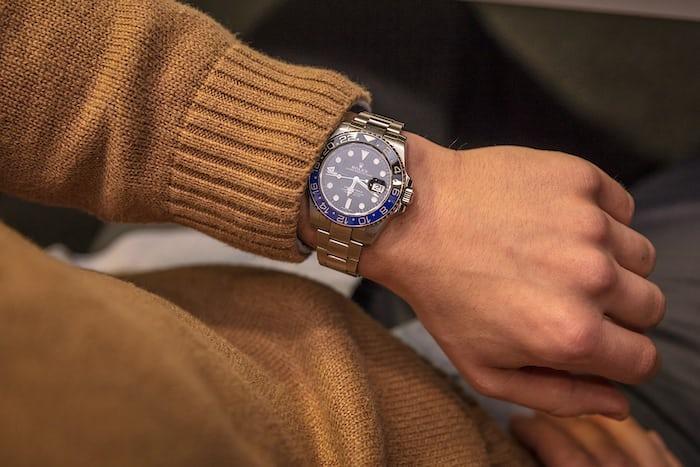 rolex gmt black blue hodinkee