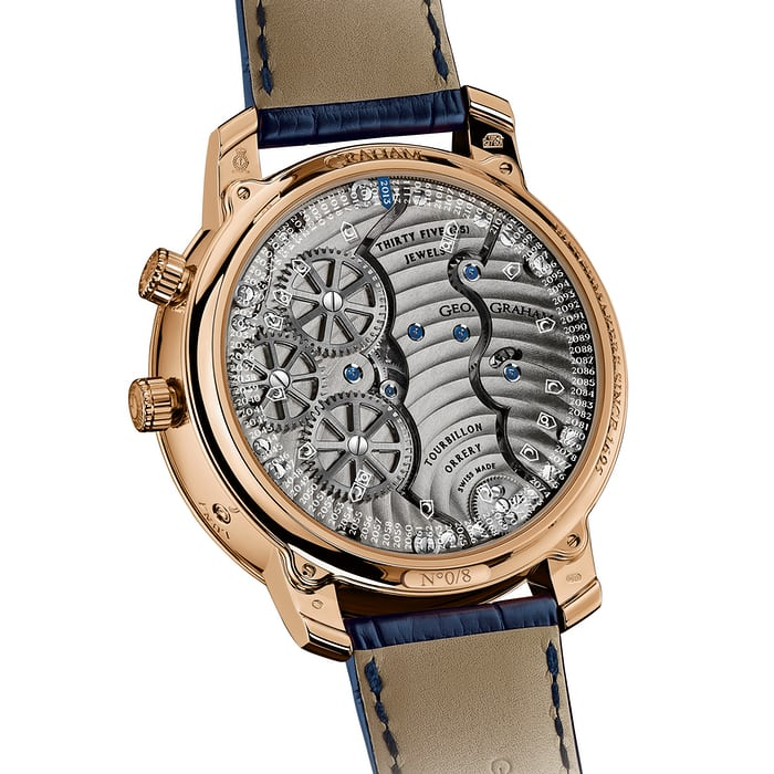 Geo. Graham Orrery Tourbillon movement