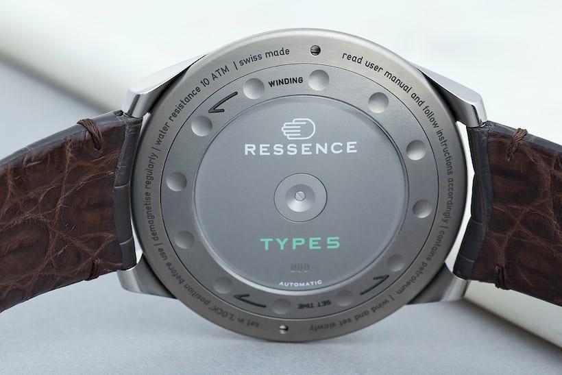 type 5g ressence caseback