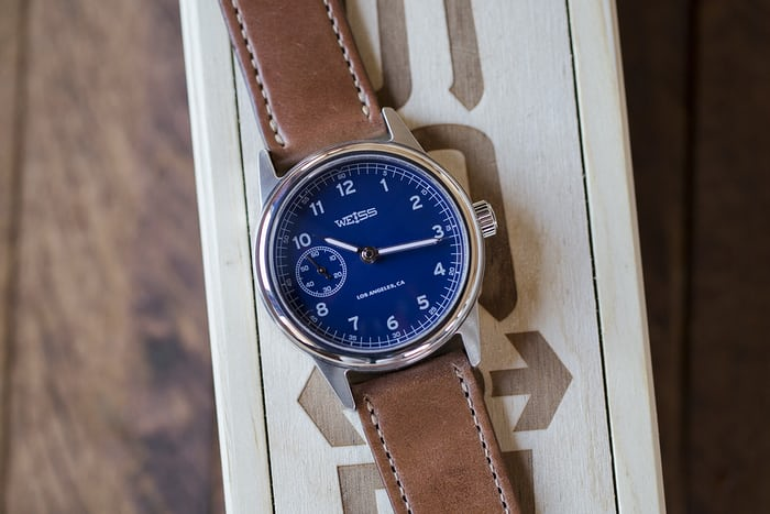 2363be4bb Hands-On: The Weiss 38mm Automatic Issue Field Watch - HODINKEE