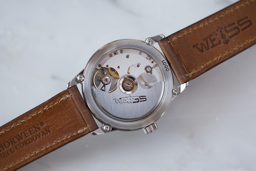 Weiss 38mm Automatic Issue Field Watch caliber 2100