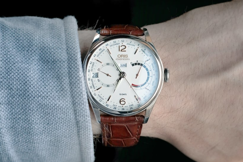 Oris Artelier Calibre 113 wristshot