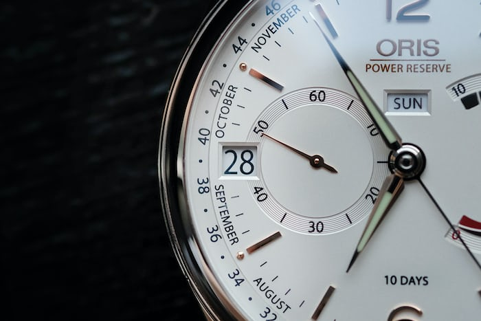 Oris Artelier Calibre 113 date window