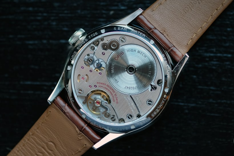 Oris Artelier Calibre 113 movement