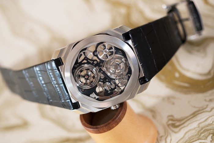 Bulgari Octo Finissimo Skeleton Tourbillon movement