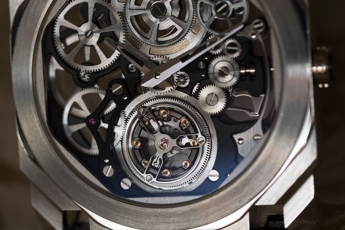 Bulgari Octo Finissimo Skeleton Tourbillon balance