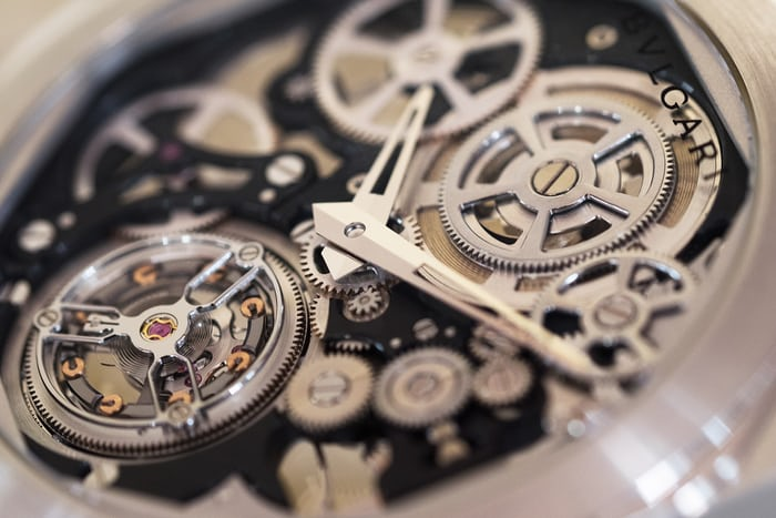 Bulgari Octo Finissimo Skeleton Tourbillon side view