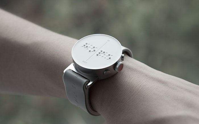braille watch dot