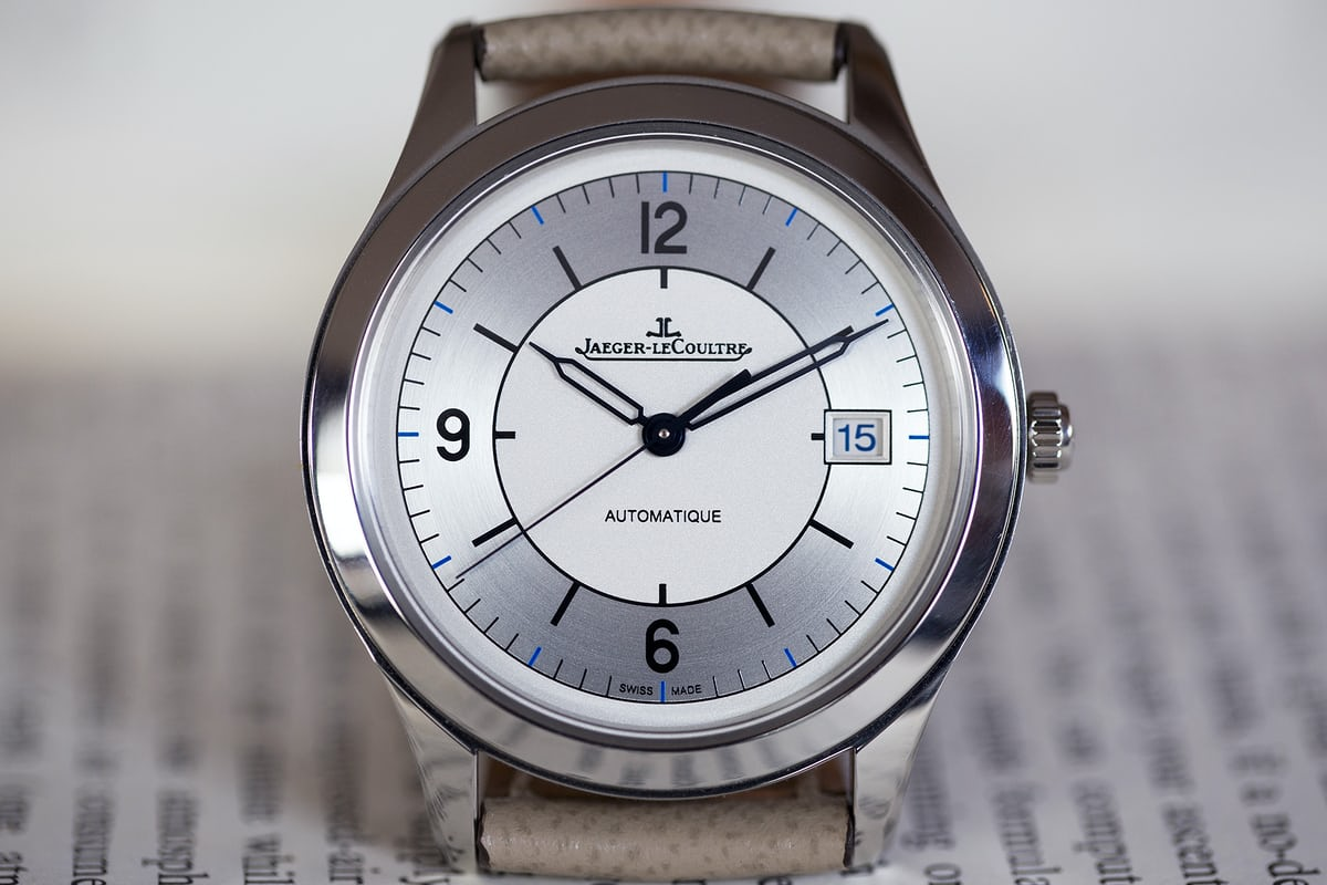 jaeger lecoultre master control date sector dial