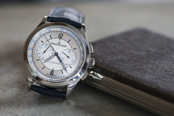 jaeger lecoultre master control chronograph sector dial
