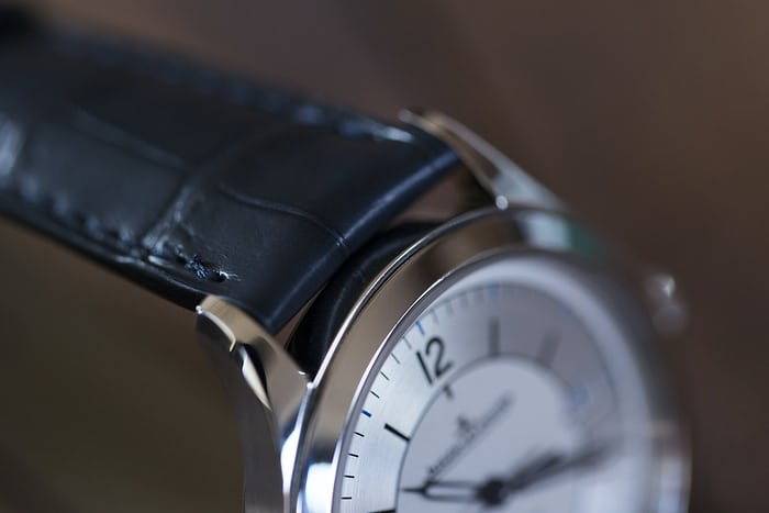 jaeger lecoultre master control date sector dial strap