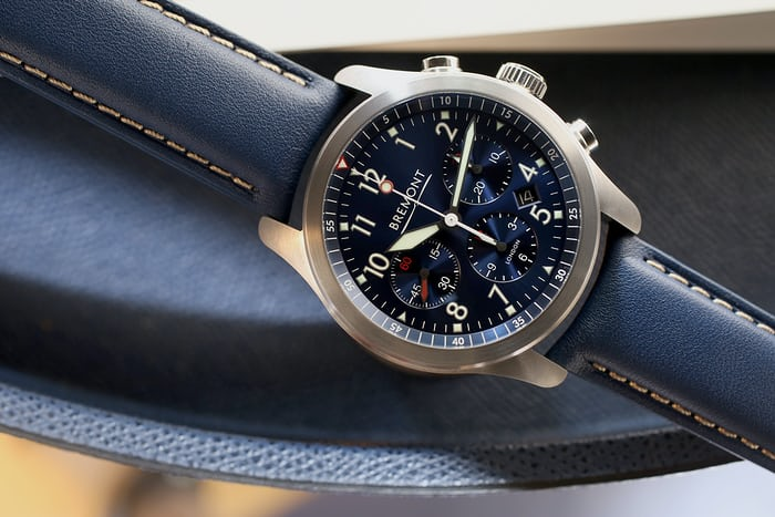 bremont at1-p chronograph blue
